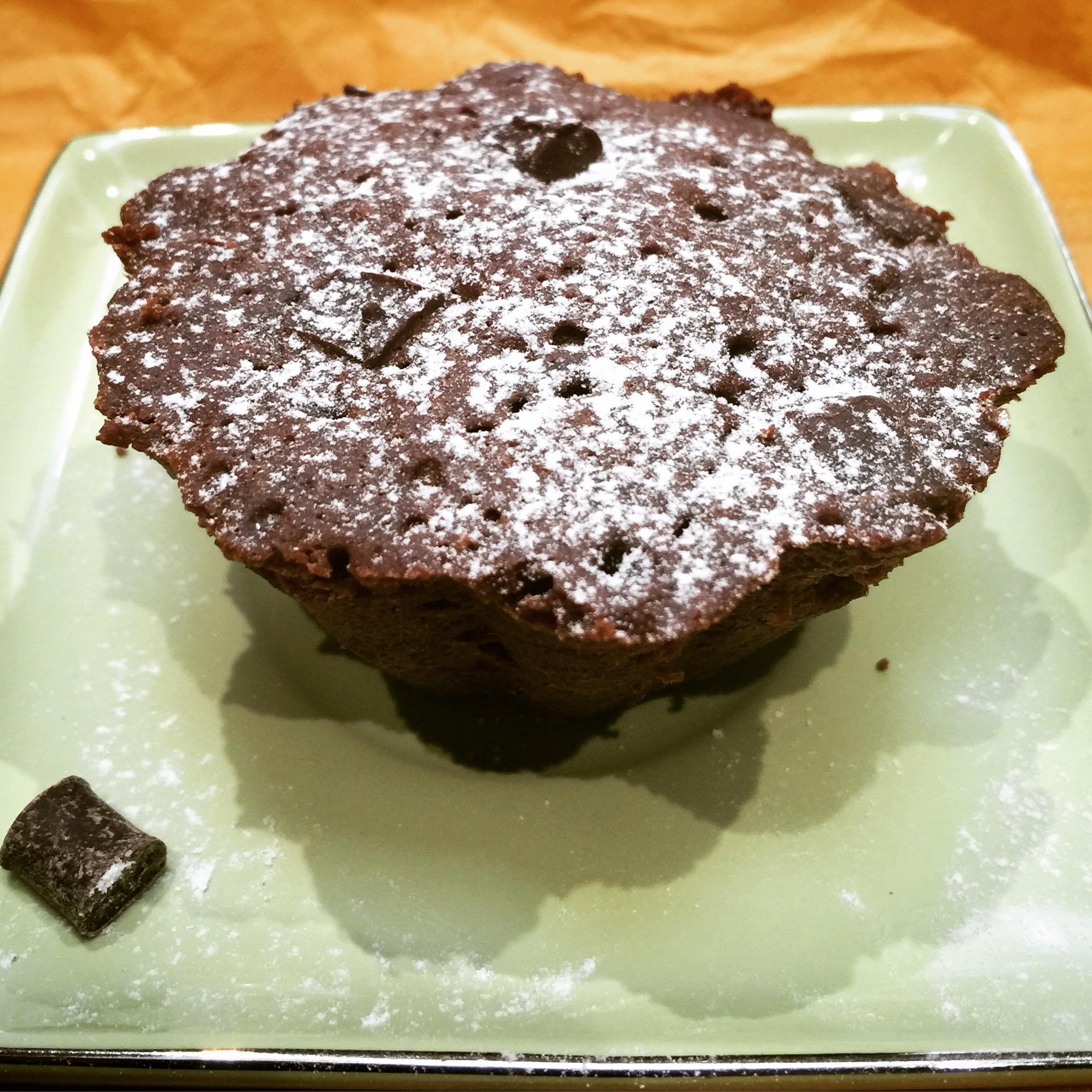 G teau au chocolat et p pites de chocolat au micro onde - Le plus petit micro onde ...