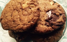 cookies aux 3 chocolats 4